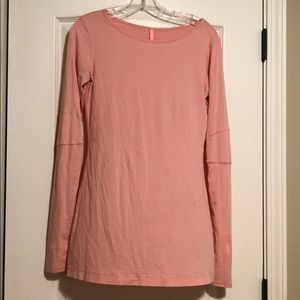 Pink lululemon long sleeve